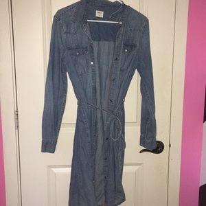 GAP jean dress